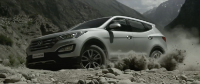 Hyundai Santa Fe- Take the Road Less Travelled